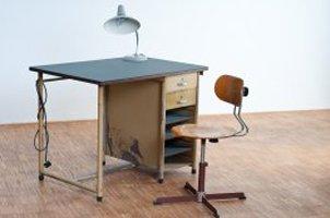 Schreibtisch Industriedesign