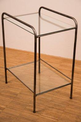 Bauhaus Glastisch
