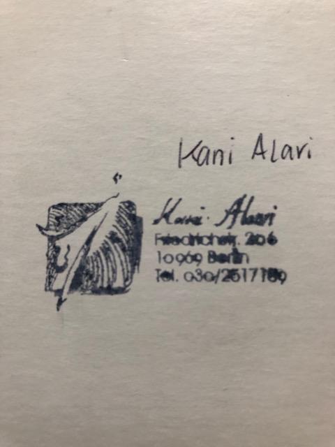 Alavi Kani Aquarell